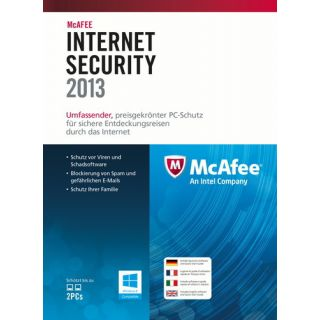 Product image of McAfee Internet Security  2013 1 User