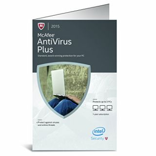 Product image of McAfee Antivirus Plus 2015 3 PC