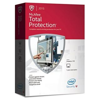 Product image of McAfee Total Protection 2015 for 1 PC