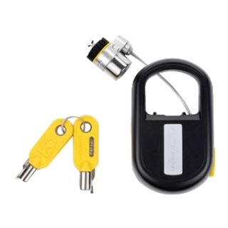Product image of Kensington MicroSaver Retractable Laptop Lock - Keyed Different