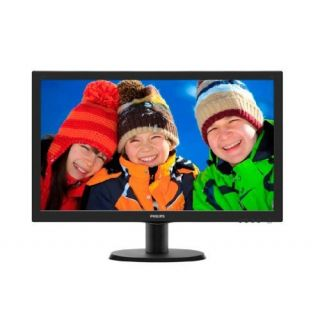Product image of Philips Monitor (23.6 inch) LCD Monitor with SmartControl Lite (Black)