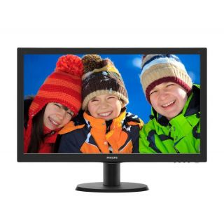 Product image of Philips V-Line 233V5QHABP (23.0 inch) LCD Monitor with W-LED Backlight 1000:1 250cdm 1920x1080 12ms VGA/HDMI (Black)