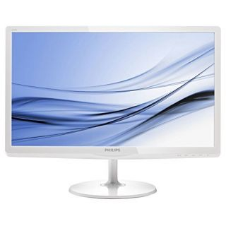 Product image of Philips E-Line 247E6ESW (23.6 inch) LCD Monitor with SoftBlue Technology 1000:1 250cd/m2 1920x1080 14ms VGA/DVI-D (White)