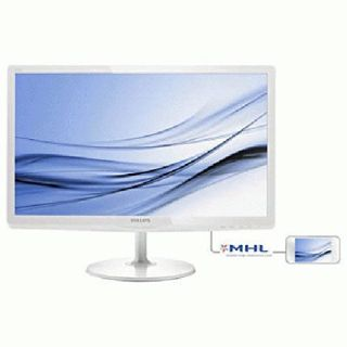 Product image of Philips E-Line 247E6EDAW (23.6 inch) LCD Monitor with SoftBlue Technology 1000:1 250cd/m2 1920x1080 14ms VGA/DVI-D/HDMI (White)