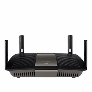 Product image of LINKSYS E8350-UK Linksys EA8350 Dual Band AC2400 Gigabit Smart Wi-Fi Router with Gigabit  (1.4Ghz Dual Core CPU  4x4 AC  USB 3.0  MU-Mimo ready)
