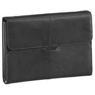 Product image of Targus Hughes Leather Laptop Slipcase (Black) for 15.6 inch Laptop