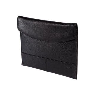 Product image of Targus Leather iPad Slipcase (Black) with iPad Screen Protector