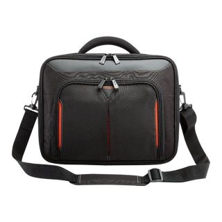 Product image of Targus Classic+ Clamshell Case (Black) with File Section for 15 inch to 15.6 inch Widescreen Laptops