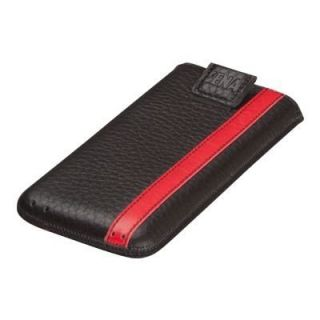Product image of Sena Corsa Protective Leather Case for Apple iPhone 5/5s - Black/Red