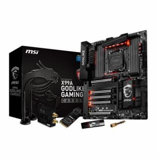 Product image of MSI X99A GODLIKE GAM CARBON MSI INTEL LGA2011-3 8*DDR4 10*USB3.1 6*USB2.0 MOTHERBOARD