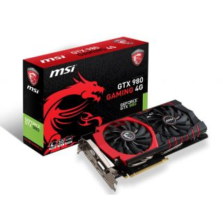 Product image of MSI GeForce GTX 980 Gaming LE Edition 4096MB GDDR5 PCI-Express Graphics Card