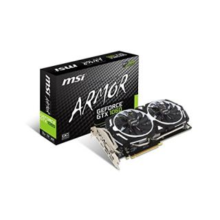 Product image of MSI GeForce GTX 1060 Armour OC 3072MB GDDR5 PCI-Express Graphics Card