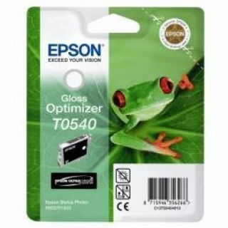 Product image of Epson T0540 Gloss Optimiser Ink Cartridge (13ml) for Epson Stylus Photo R800/R1800 (Blister RF)
