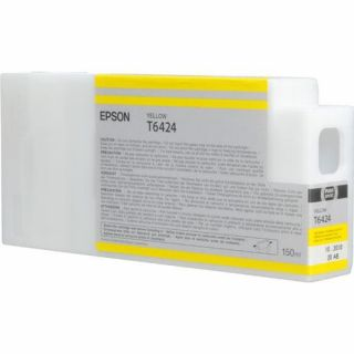 Product image of Epson T6424 UltraChrome K3 Ink Cartridge - 150ml (Yellow) for Epson Stylus Pro 7700/9700