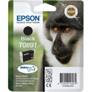 Product image of Epson T0891 Black Ink Cartridge for Stylus S20/SX100/SX105