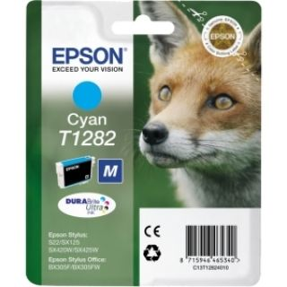 Product image of Epson T1282 Cyan Ink Cartridge for BX305F/S22/SX125/SX420W/SX425W