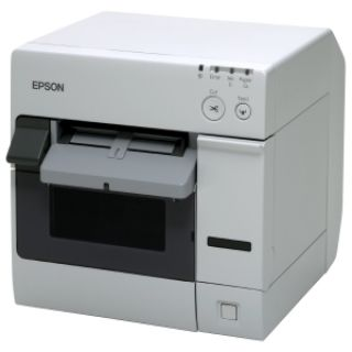 Product image of Epson TM-C3400 (032) Colour Serial Inkjet Dot Matrix Label Printer 92mm/sec LAN ECW