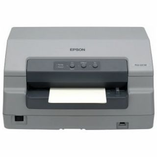 Product image of Epson PLQ-22 CS, 24-pin impact document/passbook printer with front/rear colour scanner, 94 column, 1+6 part forms, 480 cps at HSD (10 cpi), Epson ESC/P2 language and OLIVETTI PR2, IBM PPDS emulations, flatbed paper path, automatic paper thickness adjustm