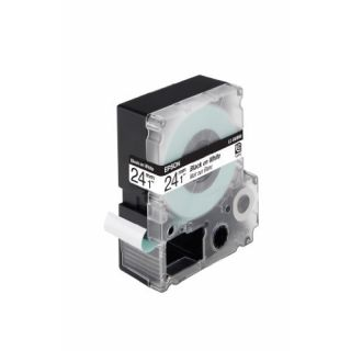 Product image of Epson LC-6WBN9 24mm (9m) Black/White Standard Label Cartridge