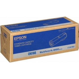 Product image of Epson 0698 Standard Capacity Black Toner Cartridge (Yield 12000 Pages) for AcuLaser AL-M400 Series Mono Laser Printers