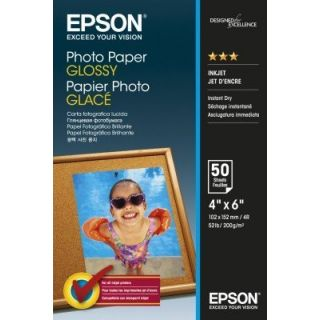 Product image of Epson (10 x 15 cm) Glossy Photo Paper 200g/m2 (50 Sheets) White
