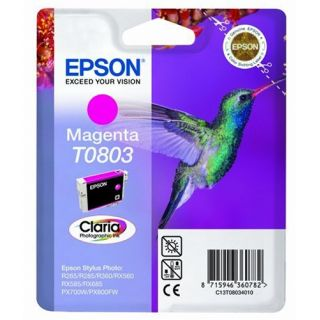 Product image of Epson T0803 Magenta Ink Cartridge