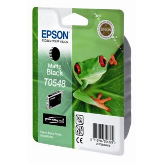 Product image of Epson T0548 UltraChrome (Matte Black) Ink Cartridge for  STYLUS R800/R1800 Printers