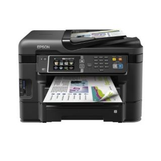 Product image of Epson WorkForce WF-3640DTWF (A4) Colour Inkjet Wireless Multifunction Printer (Print/Copy/Scan/Fax) 8.8cm Colour LCD 19ppm (Mono) ISO/IEC 24734 10ppm (Colour) ISO/IEC 24734 20,000 (MDC)