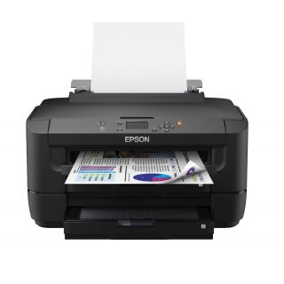 Product image of Epson WorkForce WF-7110DTW (A3) Colour Inkjet Wireless Printer 5.6cm Mono LCD 18ppm (Mono) ISO/IEC 24734 10ppm (Colour) ISO/IEC 24734 20,000 (MDC)