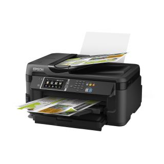 Product image of Epson WorkForce WF-7610DWF (A3) Colour Inkjet Wireless Multifunction Printer (Print/Copy/Scan/Fax) 10.9cm Colour LCD 18ppm (Mono) ISO/IEC 24734 10ppm (Colour) ISO/IEC 24734 20,000 (MDC)