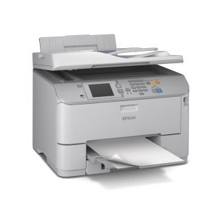 Product image of Epson WorkForce Pro WF-5620DWF (A4) Colour Inkjet Wireless Multifunction Printer (Print/Copy/Scan/Fax) 8.8cm Colour LCD 34ppm (Mono) 30ppm (Colour) 35,000 (MDC)