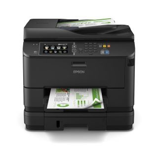Product image of Epson Workforce Pro WF-4640DTWF (A4) Colour Inkjet Wireless Multifunction Printer (Print/Copy/Scan/Fax) 10.9cm Colour LCD 34ppm (Mono) 30ppm (Colour) 30,000 (MDC)