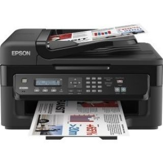 Product image of Epson WorkForce WF-2630WF (A4) Colour Inkjet Wireless Multifunction Printer (Print/Copy/Scan/Fax) 5.6cm Mono LCD 34ppm (Mono) 18ppm (Colour)
