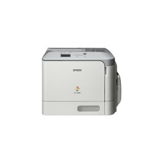Product image of Epson WorkFroce AL-C300n (A4) Colour Laser Networked Printer 1GB Mono LCD 31ppm (Mono) 31ppm (Colour) 120000 (MDC)*