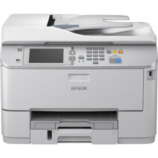 Product image of Epson Workforce Pro WF-M5690DWF (A4) Mono Inkjet Multifunction Wireless Printer (Print/Copy/Scan/Fax) 10.9cm Touch LCD 34ppm 35,000 (MDC)