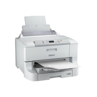 Product image of Epson WorkForce Pro WF-8090DW, Inkjet Printers, Business Inkjet/Plain, A3+, 4 Ink Cartridges, YCMK, Print, Yes, 4,800 x 1,200 dpi, 34 Pages/min Monochrome (plain paper), 34 Pages/min Color (plain paper), 250 Sheets Standard, 1,831 Sheets maximum, LCD screen: Type: Monochrome, Diagonal: 5.6 cm, Ethernet Interface (1000 Base-T/ 100-Base TX/ 10-Base-T), Wi-Fi Direct, Hi-Speed USB - compatible with USB 2.0 specification, Wireless LAN IEEE 802.11b/g/n, Mac OS 10.5.8 or later, Mac OS 10.6+, Mac OS 10.7.x, M