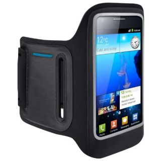 Product image of Belkin DualFit Armband (Black/Blue) for Samsung Galaxy S II