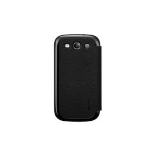 Product image of Belkin Micra Folio Case for Samsung Galaxy S III (Black)