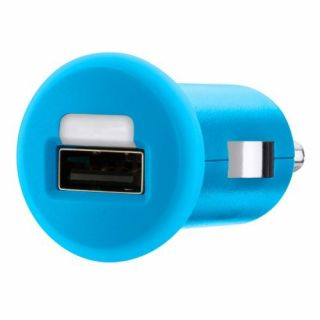 Product image of Belkin 1A Micro USB Car Charger (Blue)