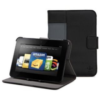 Product image of Belkin Glam Tab Cover with Stand for Kindle Fire HD 7 inch (Black)