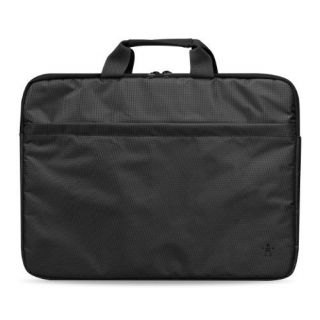 Product image of Belkin Sleeve Extra Plus to fit Notebooks up to 15.6 inch Slim and Durable with Padded Handles and Front Pocket (Black)