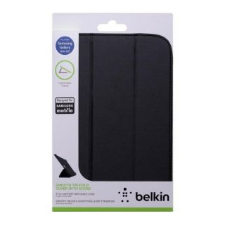 Product image of Belkin Trifold Colour Pu Folio For Samsung Galaxy Note 8.0 (Black)