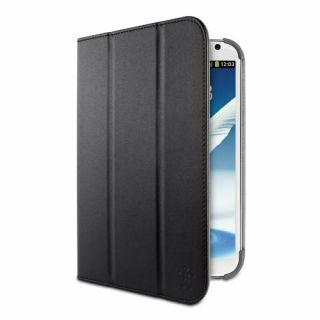Product image of Belkin Trifold Colour Pu Folio with Strap for Samsung Note 8.0 (Black)