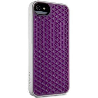 Product image of Belkin Waffle Sole Case (Purple/White) for iPhone 5