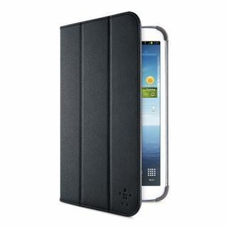 Product image of Belkin Smooth Tri-Fold Cover Case with Stand For 8.0 Inch Samsung Galaxy Tab 3 (Black)