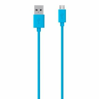 Product image of Belkin (2.0m) Mixit Colour Range Micro USB Cable (Blue)