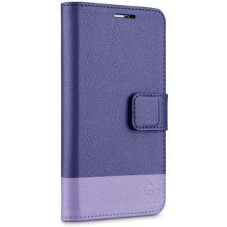 Product image of Belkin Trend Wallet Folio Leather (Ink/lavender) for Samsung S5