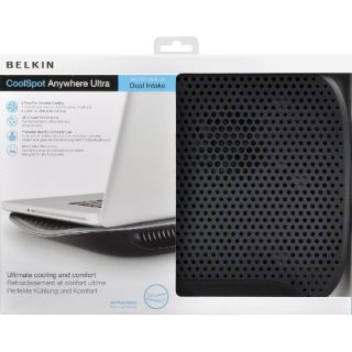 Product image of BELKIN F5L103bt Belkin CoolSpot Dual Fan Laptop Chill Matt Cooling Stand for Ultrabooks & Laptops up to 17 Inches