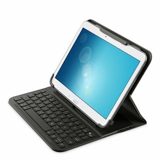 Product image of Belkin QODE Slim Style Keyboard Case for Samsung 10 inch Tablets/iPad Air/iPad Air 2