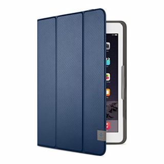 Product image of Belkin Tri-Fold Folio Cover (Blue) for iPad Air and iPad Air 2